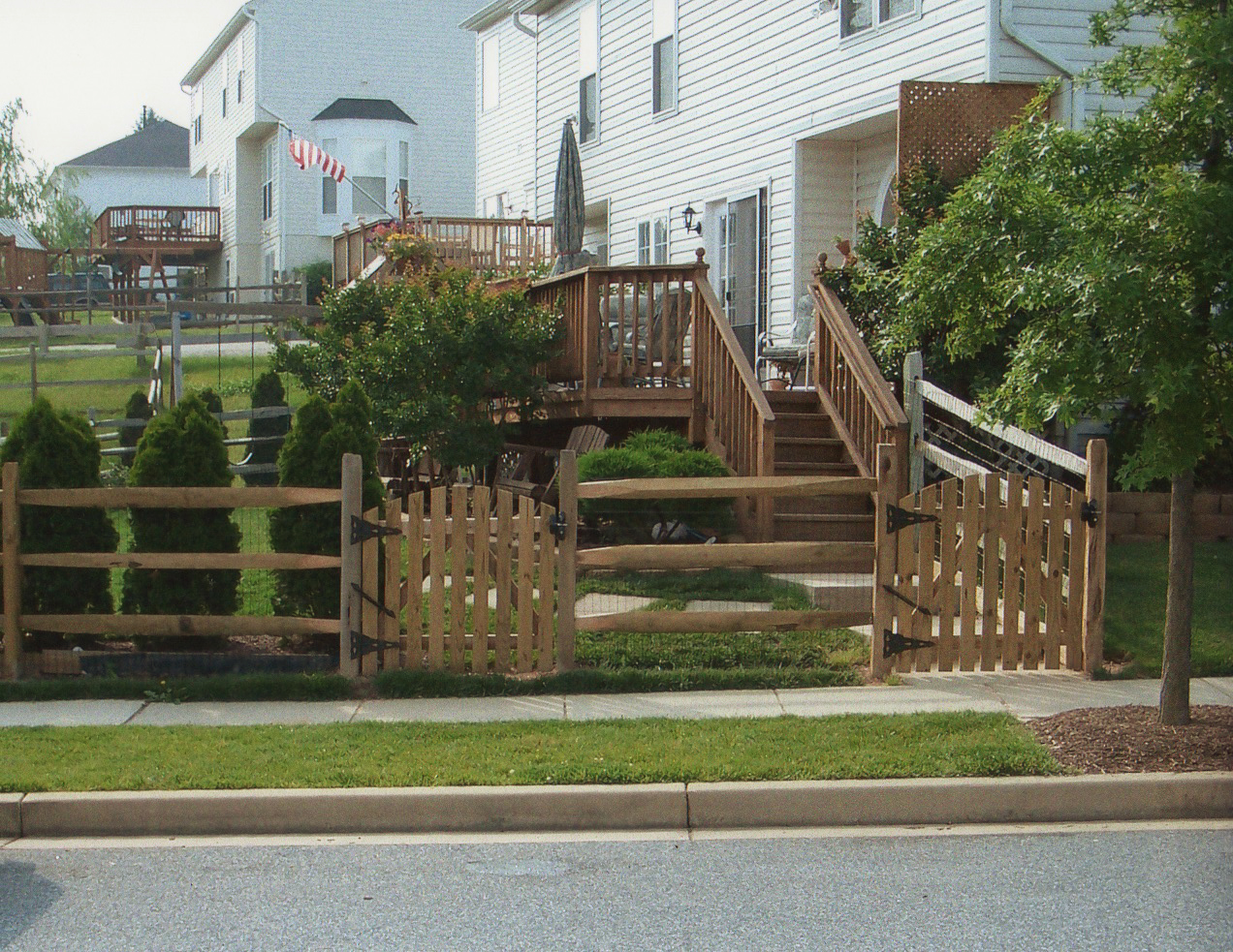 Maryland Fence Company Vinyl Fencing Wood Fencing